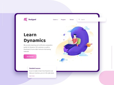 Learn Dynamics - Landing Page Concept