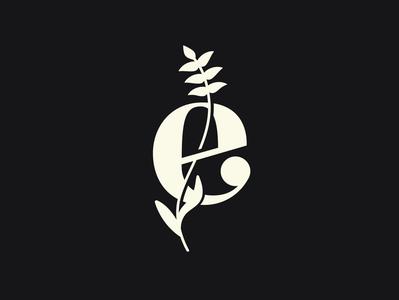 Empower Logo typography flower vector branding graphic design logo