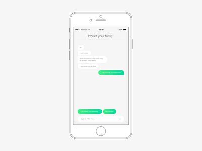 chatbot ui design
