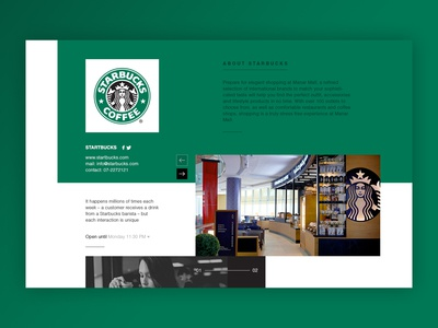 website product page design.