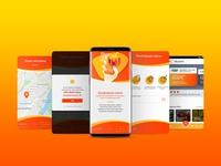 Mobile app Kunderkarte
