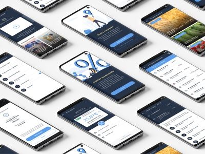 Kundenkarte v.2 design app ui