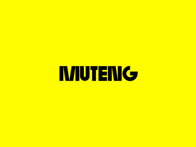 Logotype for Dj Muteng