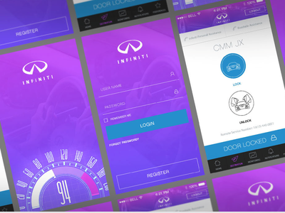 Nissan Infinity Car Remote App