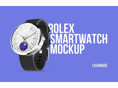 Rolex Smartwatch Mockup