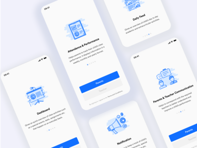 Stars Care Onboarding Screens