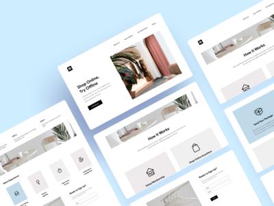 Fitting Room Website