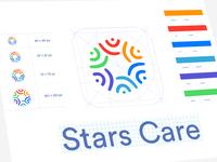 Stars Care App Branding