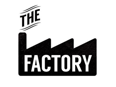 Factory logo typeface identity