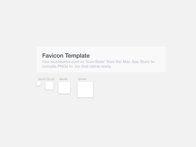 Sketch Favicon Template By Roger Dean Olden Dribbble - Ico white paper template