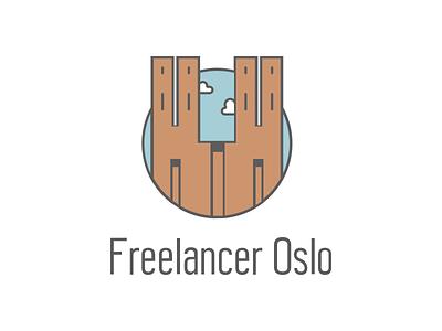Freelancer Oslo Meetup Group Logo oslo illustration logo