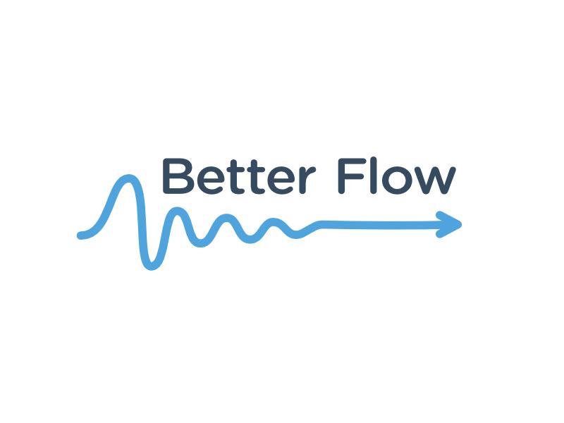 Dribbble better flow logo