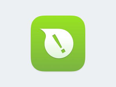 Go Speak App Icon  icon app ios