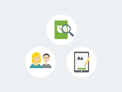 Start Screen Icons illustration icon app ios