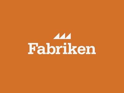Fabriken Logo brand logo