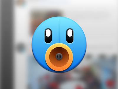 What if Tweetbot was round? tweetbot clone test icon app osx
