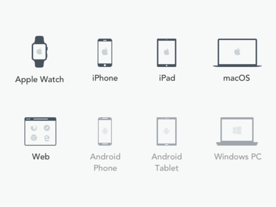 Platform Icons