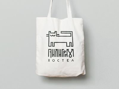 pilgrim хостел лого hostel bag branding logo pilgrim