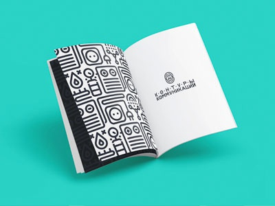 logo & id book mishapriem linestyle logocollection behance flat logo line