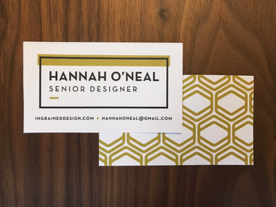 New Business Cards print shapes typography retro black and white bw black and gold gold hexagons pattern business cards