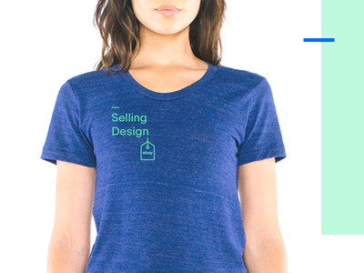 Ebay Selling Design Logo & T-Shirt two toned ebay tshirt simple tag logo mint green blue colorful neon