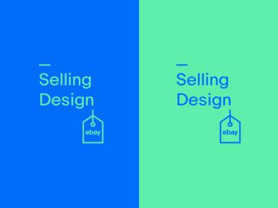Ebay Selling Design Logo