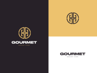 Gourmet store design illustration dribbble digitaldesign behance icon typography vector branding logo