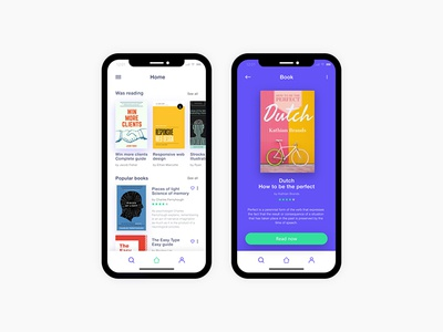 Book app interface application behance dribbble webdesigner digitaldesign mobile userinterface app ux ui