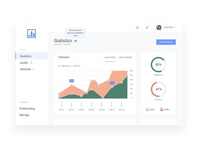 Statistics dashboard webdesigner ux userinterface ui mobile interface dribbble digitaldesign behance app