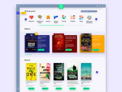Book store ui store user interface ux