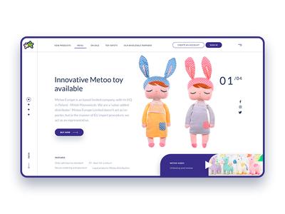 Metoo toys logo illustration ui design desktop app interface dribbble behance webdesigner ux ui interface digitaldesign