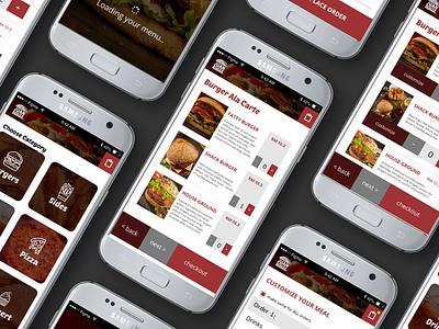 In-Restaurant Ordering App   Concept Design mobile design mobile app app design ux ui