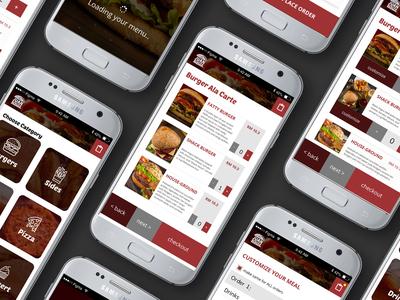 In-Restaurant Ordering App | Concept Design mobile design mobile app app design ux ui