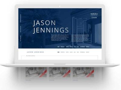 Real Estate Website Homepage