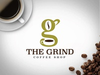 #ThirtyLogos - The Grind Coffee Shop