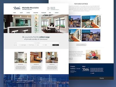 Render - Ubertor Real Estate Theme web design real estate minimal clean