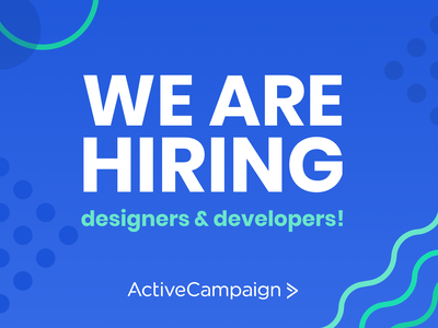 ActiveCampaign is HIRING! marketing remote job hiring