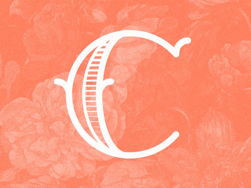 #Typehue 3: C type letter dropcap c typehue