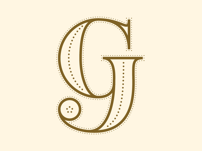 #Typehue 7: G type letter dropcap g typehue
