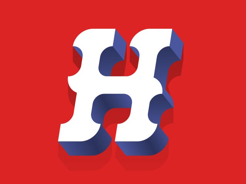 #Typehue 8: H type letter dropcap h typehue