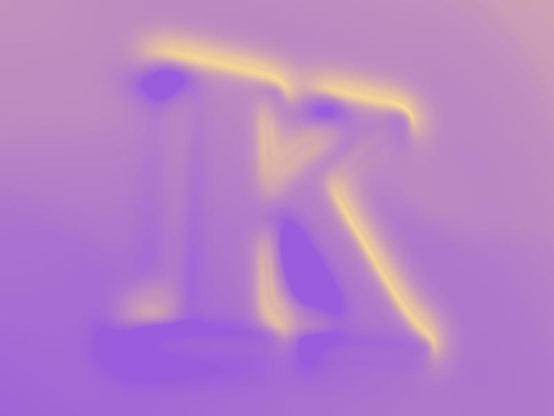 #Typehue 11: K type letter dropcap k typehue