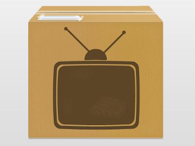 TvBox illustrator tv box vector icon