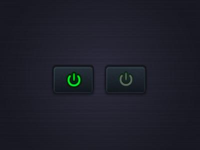 Button button illustrator vector on-off power-on power