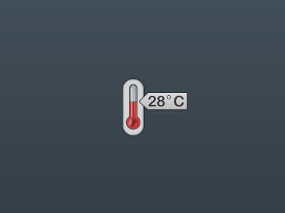The thermometer thermometer vector illustrator element weather hot