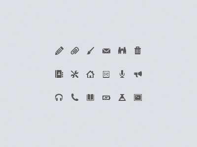 UI icons icons pictogram clean vector ui