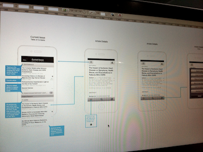 Current Issue screen ui ios iphone app ux mobile wireframes user experience