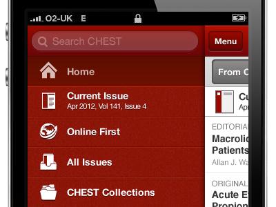 Chest App  ui vector illustrator ux app interface design ios iphone mobile