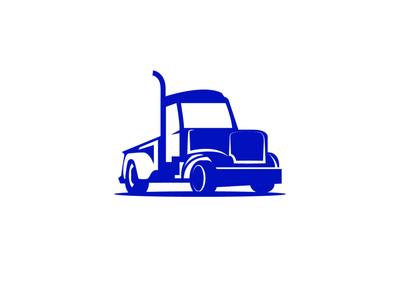 Luxury Royal truck Logo Design flat minimal icon logo design illustration