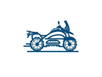 traveler bike character icon vector illustration adventure bike traveler bike logo traveler