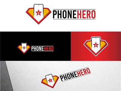 Phone Repair Logo logo flat character vector illustration design 3d logo wordmark logo repairing logo mobile repair mobilelogo phoneservices repairlogo phonelogo repair phonerepairlogo